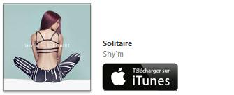 Shy'm Solitaire disponible sur iTunes avec NRJ